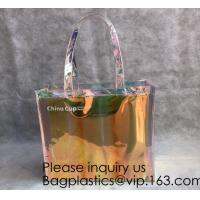 Buy cheap HOLOGRAPHIC NEON TOTE PVC BAG,VINYL SHOPPING SHOPPER,TOILETRY BIKINI SWIMWEAR from wholesalers