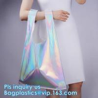 Wholesale HOLOGRAPHIC NEON TOTE PVC BAG,VINYL SHOPPING SHOPPER,TOILETRY BIKINI SWIMWEAR BEACHWEAR WOMAN BAG from china suppliers