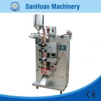 Wholesale Vinegar / Cream Φ300mm Four Side Sealing Packing Machine With Horizontal Stroke Pump from china suppliers