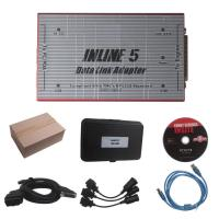 Wholesale Red Truck Diagnostic Tool Cummins INLINE 5 INSITE 7.62 Data Link Adapter from china suppliers
