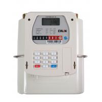 Wholesale STS Gas Prepayment Meter Diaphragm Type Smart Gas Meter , Gray from china suppliers