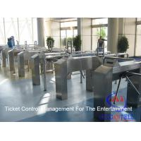 Wholesale Cinema / Park / Station / Metro Entrance Code Ticket Management Systems And Turnstile Gate from china suppliers