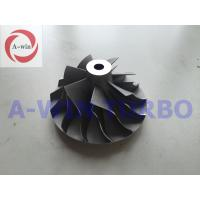 Wholesale Aluminum Black / Dark Turbo Compressor Wheel S3A 314802 for Schwitzer from china suppliers