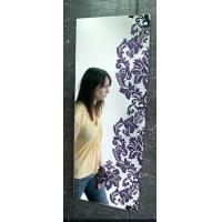 Quality Decorative Mirror 60*60cm Art Follower Mirror Engraved Mirror Interior Mirror Frame Mirror for sale