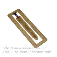 print metal etched ruler bookmarks