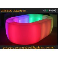 Wholesale Rechargeable waterproof colorful LED lighting furniture bar table bar counter from china suppliers