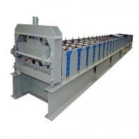 Wholesale 22KW Gearbox Drive Metal Deck Roll Forming Machine With 5T Hydraulic Uncoiler from china suppliers
