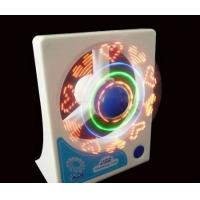 Wholesale colorful mini usb fan with USB hub and customized led message wholesale from china suppliers