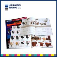 Wholesale Customized Two staples saddle stitched brochure printing / advertisement booklet from china suppliers