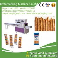 Wholesale food flow pack machine for bread sticks,breadsticks,finger sticks ,Lance Bread Sticks pack machine from china suppliers