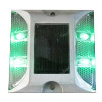 Wholesale 4PCS LED high bight traffic safety flashing soalr road stud from china suppliers