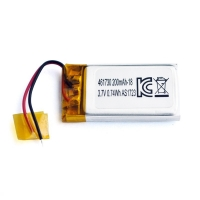Wholesale UN38.3 200mAh 3.7 V Lithium Polymer Battery Pack PL461730 from china suppliers