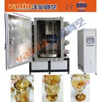 Quality Gold Color Glass Cups Vacuum PVD Plating Machine on Crystal for sale