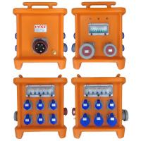 Buy cheap MK2 Multi Ways Powerhouse Portable Distribution Boxes With Disconnect And Overcurrent Protection Provided By MCB RCBO from wholesalers