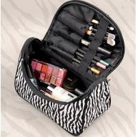 Wholesale Hop-selling Zebra cosmetic bag Clear zipper cosmetic bag Make up bag toiletry bag from china suppliers