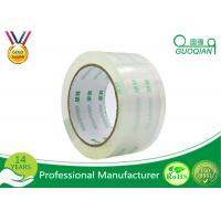 Wholesale Crystal Clear Bopp Printed Parcel Tape , Quiet Packing Tape With Pressure Sensitive from china suppliers