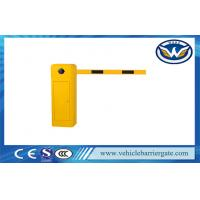 Wholesale Remote Control Automatic Barrier Gates , Straight Boom Traffic Barrier Gates in 3m / 5m / 6m from china suppliers