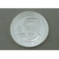 Wholesale KPS Personalized Coin By Brass Stamped In 3D With Silver Plating from china suppliers