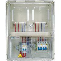 Wholesale 2 Positions Surface Mounted Electric Meter Box  With Transparent Pc Door from china suppliers