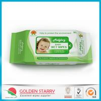 Wholesale Fragrance Biodegradable Baby Wet Wipes 80 Sheets with Flip Lid from china suppliers