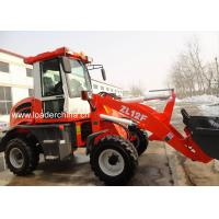 Wholesale Mini loader ZL12F with snow bucket from china suppliers