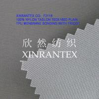 Wholesale F2116 full dull 100% nylon taslon tpu lamilated with tricot from china suppliers