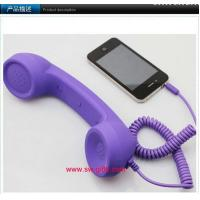 Wholesale Phone Handset,Anti Radiation.No volume for iphone 4s/laptop/ipad Retro Telephone Receiver from china suppliers