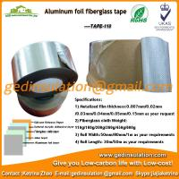 Wholesale Widely use Aluminum foil coated fiberglass cloth insulation tape from china suppliers