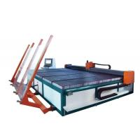 Wholesale CNC Automatic Shaped Glass Cutting Machine with Semi - Auto Glass Loading from china suppliers