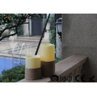 Wholesale White Led Pillar Candles / Electric Pillar Candles For Indoor LP-001 from china suppliers