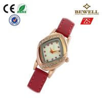 Wholesale Lady Bewell Alloy Japan Movt Watches 3 ATM Waterproof With Leather Band from china suppliers