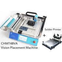 Wholesale SMT Placement Equipment Small Desktop Pick And Place Machine With Solder Printer from china suppliers