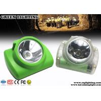 Wholesale Coal Emergency Cree Led Miners Cap Lamp , IP68 PC Material Miner Headlight  from china suppliers