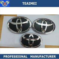 Wholesale 100% Waterproof Toyota Grill Badge Custom Car Emblems Red 150*105mm from china suppliers