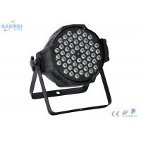 Wholesale RGBW Color LED Par Stage Lights For Wedding Events Low Power Consumption from china suppliers