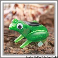 Buy cheap Solar Toys Wholesale Small Solar Toy Power By Solar Energy Green Frog from wholesalers
