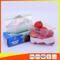 Wholesale LDPE Transparent Resealable Press Zip Snack Ziplock Bags Air Proof For Packaging from china suppliers