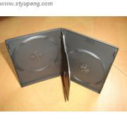 China 14mm for 3 discs black DVD case dvd box dvd cover with  tray (YP-D8082H) on sale