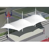 Wholesale PVDF Cloth Covers Playground Shade Structures , Sports Arena Overhead Shade Structures from china suppliers