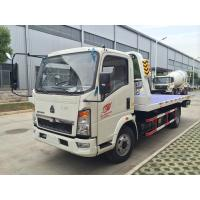Wholesale Mini  Howo 4 x 2  Light Duty Commercial Trucks , 5t Towing Wrecker Truck/broken vhicles carrier from china suppliers