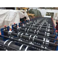 Wholesale 8 - 12 M / Min Double Layer Roll Forming Equipment 7.5Kw Cold Roll Forming Machine from china suppliers