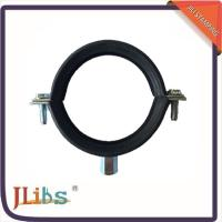 Wholesale Carton Steel M8 EPDM Rubber Lined Pipe Clamps With Mirror Polish water pipe clamp from china suppliers