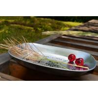 Wholesale Print Small  Tin Ice Bucket Metal Serving Tray 250 x 165 x 30 mm from china suppliers