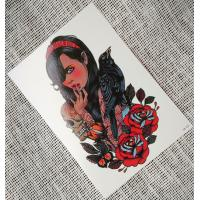 Wholesale Mulit Color Adults Flash Temporary Tattoos Stickers , 3d Tattoos Temporary Body Stickers from china suppliers