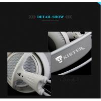 XIBTER Professional Gaming Headset 7.1 Surround Sound Emitting Vibration Function USB Headphone For PC Game P4P