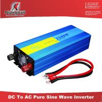 Wholesale Cheap ! dc 12v/24 to ac 220v 110v pure sine wave inverter 2500w from china suppliers