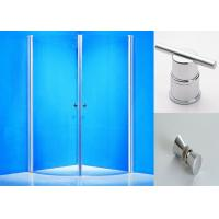 Wholesale Clear Glass Pivot Shower Enclosure 800 X 900 Round Corner Shower Stalls from china suppliers
