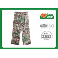 Quality Outdoor Womens Fashion Hunting Camo Pants , Army Camo Pants For Women for sale