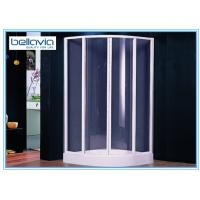 Wholesale White 1000mm x 1000mm Quadrant Shower Enclosure Sliding Door Four Glass Panel from china suppliers