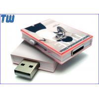 Wholesale Full Color UV Digital Printing Magazine 16GB USB Pen Stick Side Slip Out from china suppliers